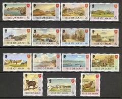 005289 Isle Of Man 1973 MNH Range - Man (Ile De)