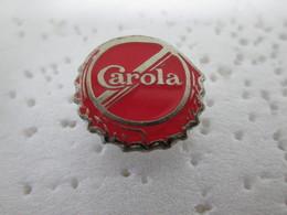 PIN'S    CAROLA   EAU MINERALE - Beverages