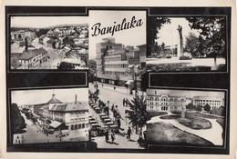 Postcard Banja Luka  Bosnia Yugoslavia 1961 - Bosnie-Herzegovine