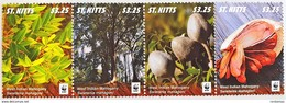 # St. Kitts 2016**Mi.1541-44 West Indian Mahogany , MNH [1;5] - W.W.F.