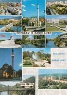 2 X Postcard Banja Luka  Bosnia Yugoslavia Mosque - Bosnie-Herzegovine