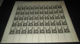 France 1945 Neuf** N° 742   OURADOUR Feuille  Complète (full Sheet) 50 Timbres - Feuilles Complètes