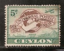 CEYLON OBLITERE - Sri Lanka (Ceylan) (1948-...)