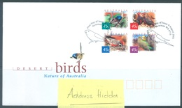 AUSTRALIA  - FDC - 9.8.2001 - DESERT BIRDS - Yv 1966-1967 - Lot 18614 - Premiers Jours (FDC)