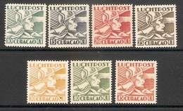 006460 Curacao 1931 Airmail Lot MNH + MH - Curacao, Netherlands Antilles, Aruba