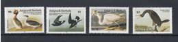 Antigua Und Barbuda (BBK) Michel Cat.No. Mh/** 851/854 Birds - Antigua Et Barbuda (1981-...)