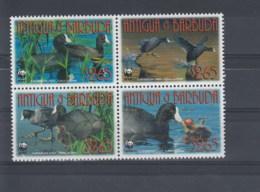 Antigua Und Barbuda (BBK) Michel Cat.No. Mh/** 4702/4705 Birds - Antigua Et Barbuda (1981-...)