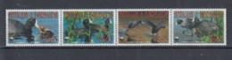 Antigua Und Barbuda (BBK) Michel Cat.No. Mh/** 4702/4705 Birds Strip - Antigua Et Barbuda (1981-...)