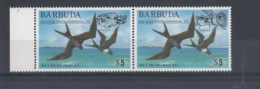 Barbuda (BBK) Michel Cat.No. Mh/** 227/228 Birds - Antigua Et Barbuda (1981-...)