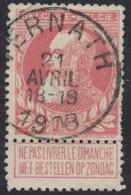 """Grosse Barbe - N°74 Obl Simple Cercle """"Ternath"""" - 1905 Grosse Barbe"""
