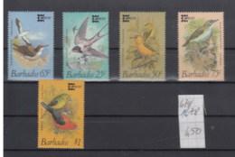 Barbados (BBK) Michel Cat.No. Mnh/** 674/678 Birds - Barbades (1966-...)