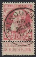 """Grosse Barbe - N°74 Obl Simple Cercle """"Wenduyne"""" - 1905 Grosse Barbe"""