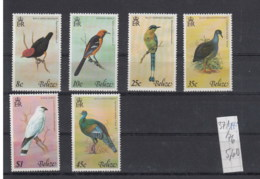 Belize (BBK) Michel Cat.No. Mnh/**  371/376 Birds - Belize (1973-...)