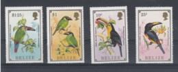 Belize (BBK) Michel Cat.No. Mnh/**  926/929 Birds - Belize (1973-...)