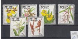 Belize (BBK) Michel Cat.No. Mnh/**  1084/1089 Orchids - Belize (1973-...)