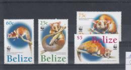 Belize (BBK) Michel Cat.No. Mnh/**  1285/1288 Wwf - Belize (1973-...)