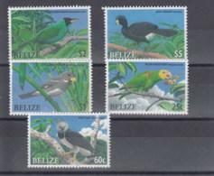 Belize (BBK) Michel Cat.No. Mnh/**  1323/1327 Birds - Belize (1973-...)