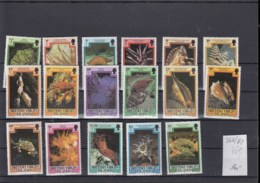 Jungfern Inseln (BBK) Michel Cat.No. Mnh/** 366/382 Defs - Iles Vièrges Britanniques