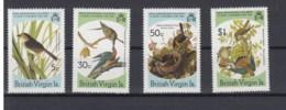 Jungfern Inseln (BBK) Michel Cat.No. Mnh/** 533/536 Birds - Iles Vièrges Britanniques