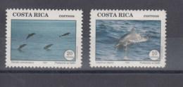 Costa Rica (BBK) Michel Cat.No. Mnh/** 1417/1418 Dolphins - Costa Rica