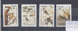 Grenada  (BBK) Michel Cat.No. Mnh/** 1343/1346 Birds - Grenada (1974-...)