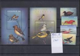 Grenada  (BBK) Michel Cat.No. Mnh/** 4050/4053 + Sheet 540/541 Birds - Grenada (1974-...)