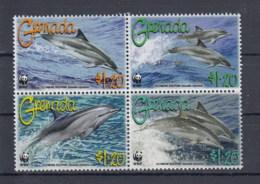Grenada  (BBK) Michel Cat.No. Mnh/** 5925/5928 Dolphin - Grenada (1974-...)