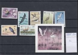 Grenada Grenadinen (BBK) Michel Cat.No. Mnh/** 289/295 + Sheet 36 Birds - Grenada (1974-...)