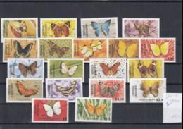 Grenada Grenadinen (BBK) Michel Cat.No. Mnh/** 672/690 Butterfly - Grenade (1974-...)