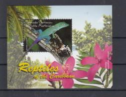Grenada Grenadinen (BBK) Michel Cat.No. Mnh/** Sheet 599 Gecko - Grenada (1974-...)