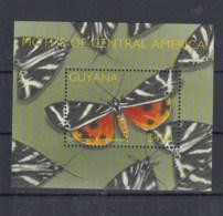 Guyana (BBK) Michel Cat.No. Mnh/** Sheet 742 Butterfly - Guyane (1966-...)