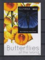 Guyana (BBK) Michel Cat.No. Mnh/** Sheet 813 Butterfly - Guyane (1966-...)