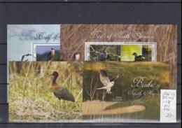 Guyana (BBK) Michel Cat.No. Mnh/** Sheet 8266/8273 + 845/846 Birds - Guyane (1966-...)
