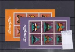 Guyana (BBK) Michel Cat.No. Mnh/** Sheet 8579/8590 Butterfly - Guyane (1966-...)