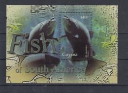 Guyana (BBK) Michel Cat.No. Mnh/** Sheet Fish - Guyane (1966-...)