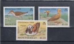 Montserrat (BBK) Michel Cat.No. Mnh/** 731/733 Birds - Montserrat