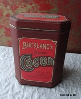 Vintage -  Boite Métal BUCKLAND'S Pure COCOA - Boîtes
