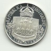 1985 - San Marino 500 Lire - Bach - San Marino
