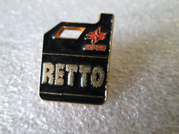 PIN'S  BIDON   HUILE  CEPSA  RETTO - Badges