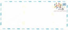 Onu, United Nations, Nations Unies,new York, Entier Postal 1973, Env Neuve11c , Poste Aérienne,oiseaux,air Mail, 240x106 - New York -  VN Hauptquartier