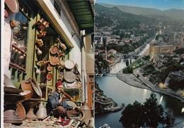 2 X Postcard Sarajevo Bosnia Yugoslavia - Bosnie-Herzegovine