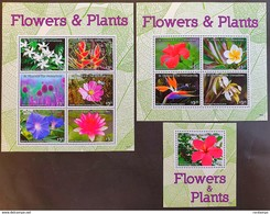 St.Vincent & The Gren. 2016** Klb.7671-76, 7677-80, Bl.828. Flowers&Plants MNH [1;18,19] - Plants