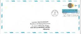 Onu, United Nations, Nations Unies,new York, Entier Postal 1975, Env Fdc13c , Poste Aérienne,avion,air Mail, 240x106 - Lettres & Documents