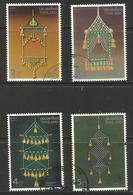 Thailand - 1991 Hanging Decorations Used   Sc 1385-8 - Thailand