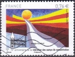 France Oblitération Moderne N° 4948 - 70 ème Anniversaire De La Libération Des Camps De Concentration - Oblitérés