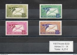 Vietnam Du Sud. Poste Aérienne. Grue - Viêt-Nam