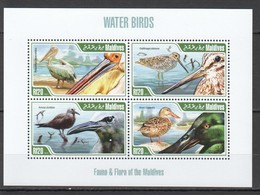 VV966 2013 MALDIVES FAUNA WATER BIRDS 1KB MNH - Oiseaux