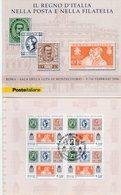 Italia 2006 - Il Regno D'Italia Nella Posta E Nella Filatelia - - 6. 1946-.. Repubblica