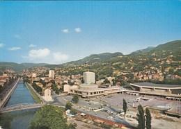 Postcard Skenderija Sarajevo Bosnia Yugoslavia  Sport Hall - Bosnie-Herzegovine