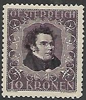 Austria   1922   Sc#B53a  10kr Charity  MNH   Perf 11 1/2   2016 Scott Value $16 - Unused Stamps